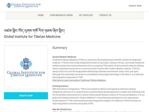Global Institute for Tibetan Medicine